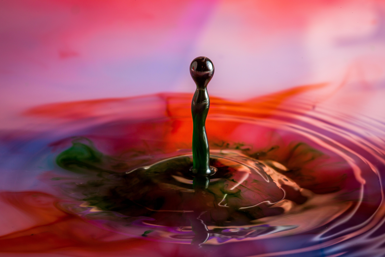 Milk Drops 2 | Abstract and Random | Scott Smith Photography