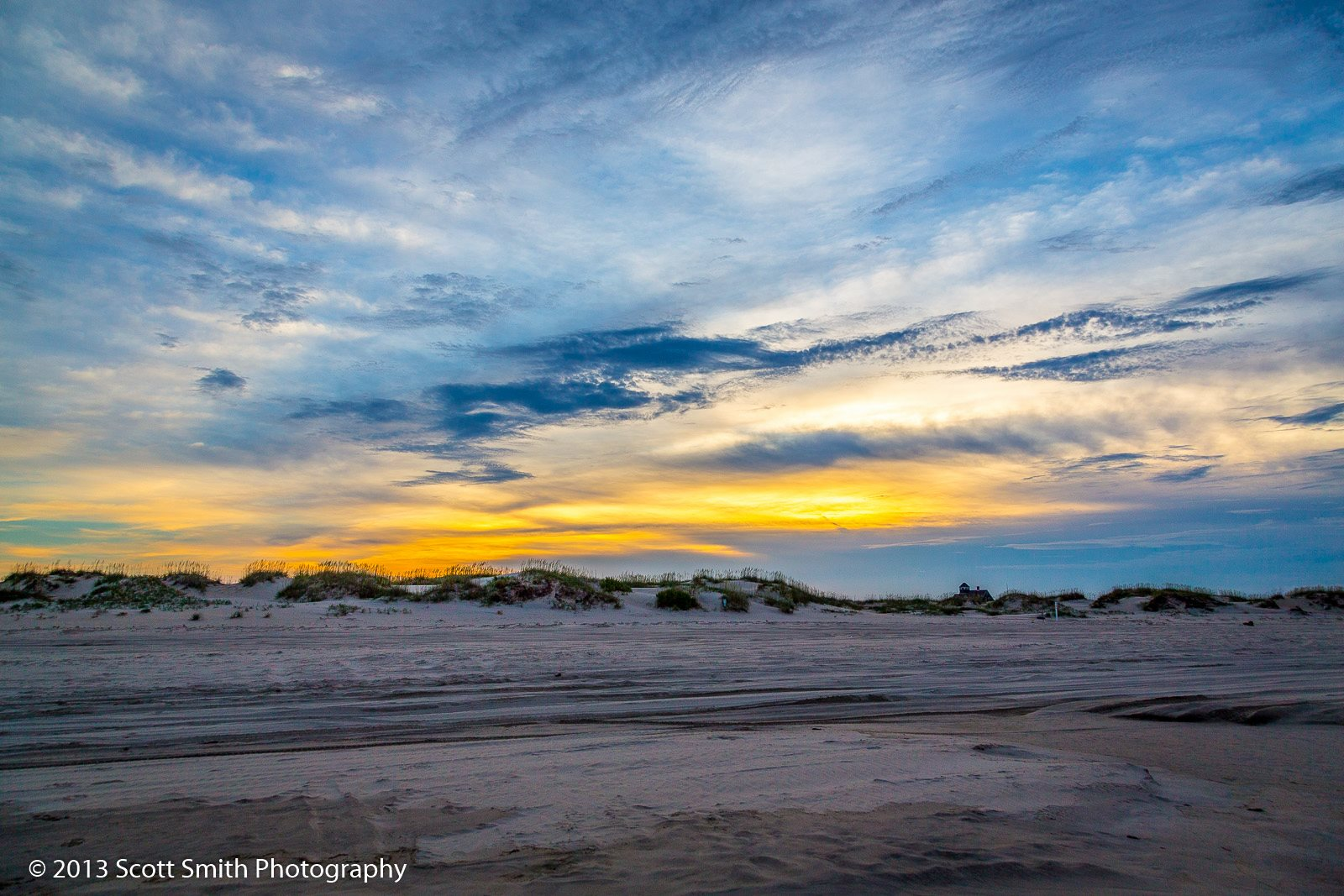 Dunes at Sunset -  by Scott Smith Photos