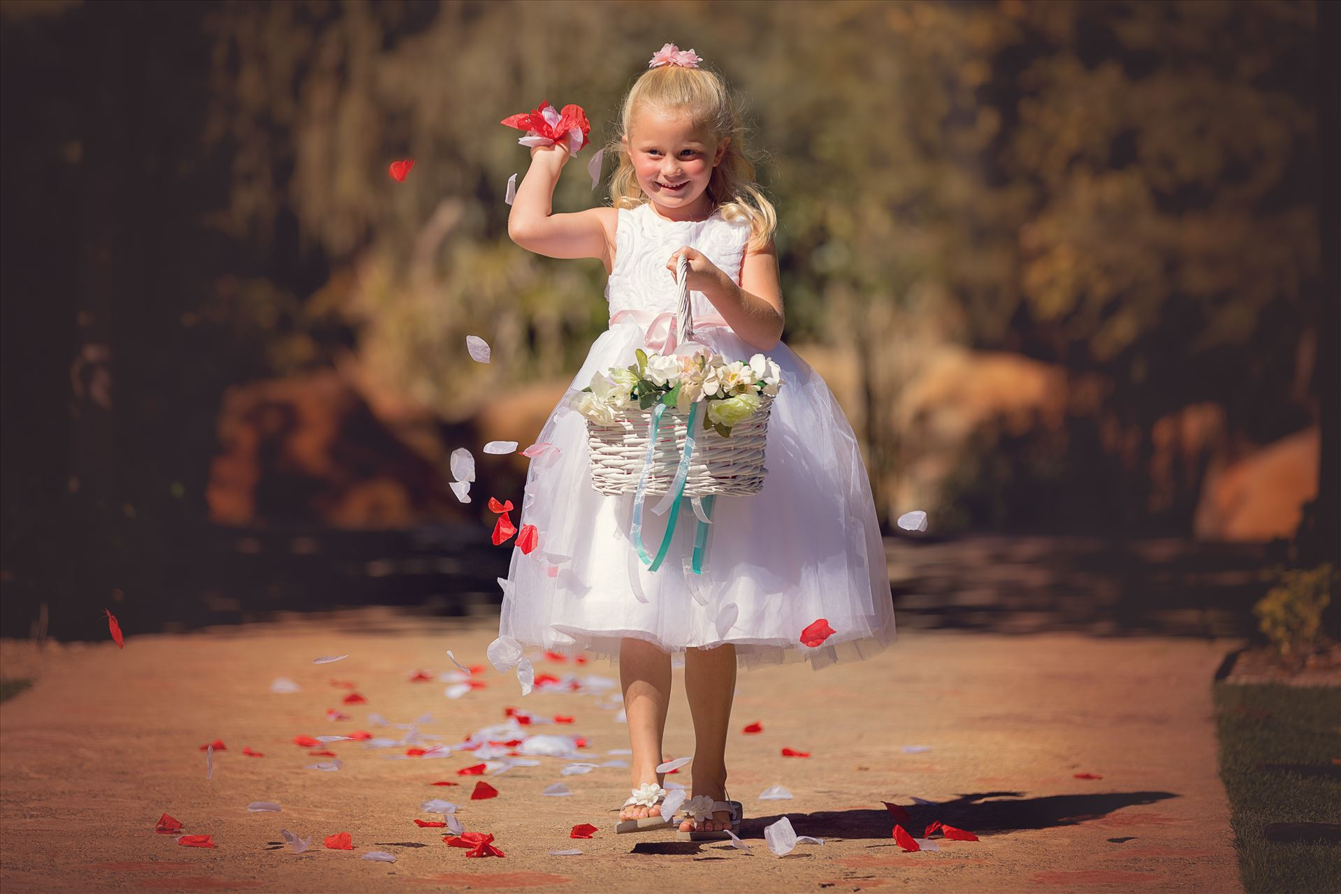 Flower Girl -  by Scott Smith Photos