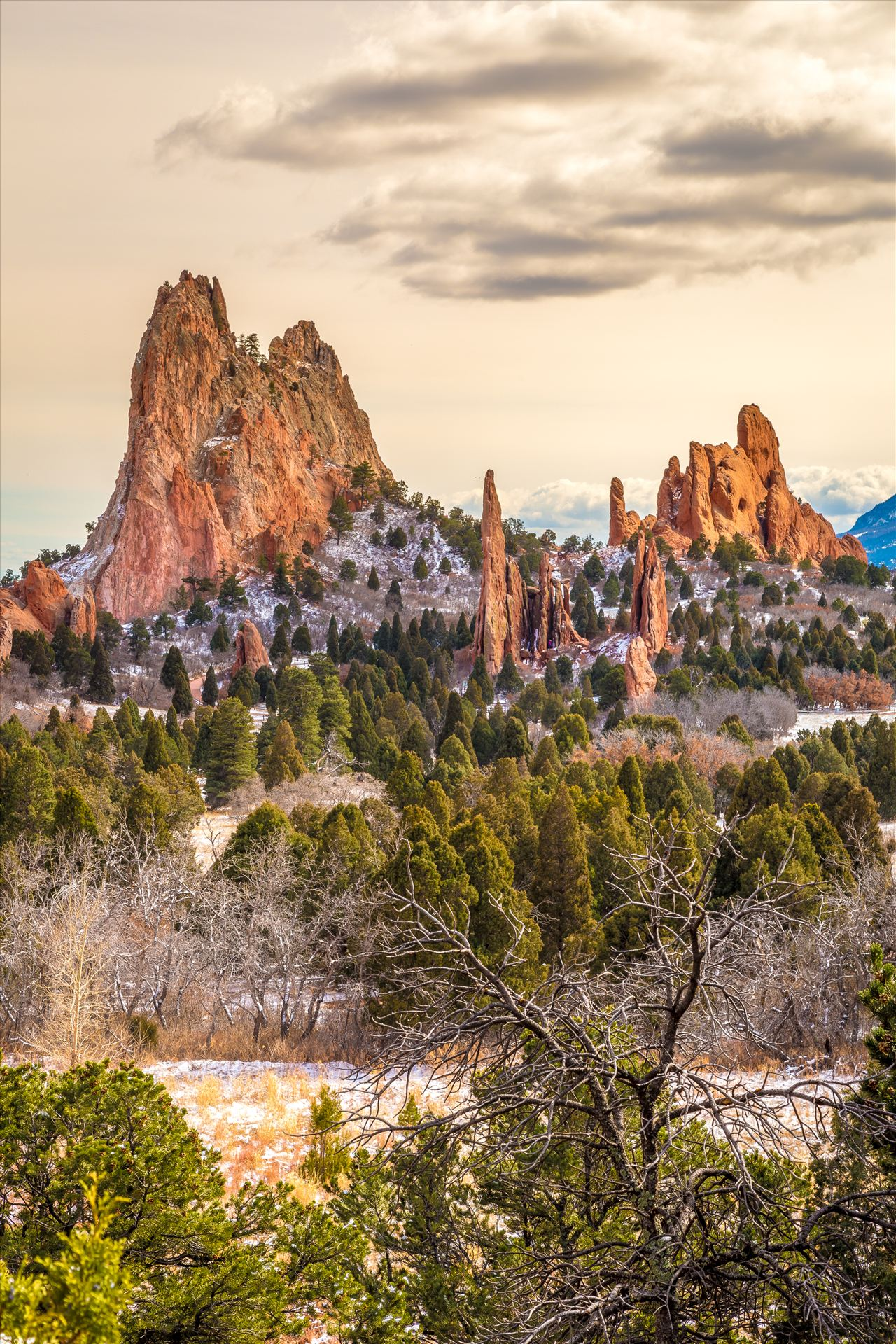 Garden of the Gods Spires No 2 -  by Scott Smith Photos