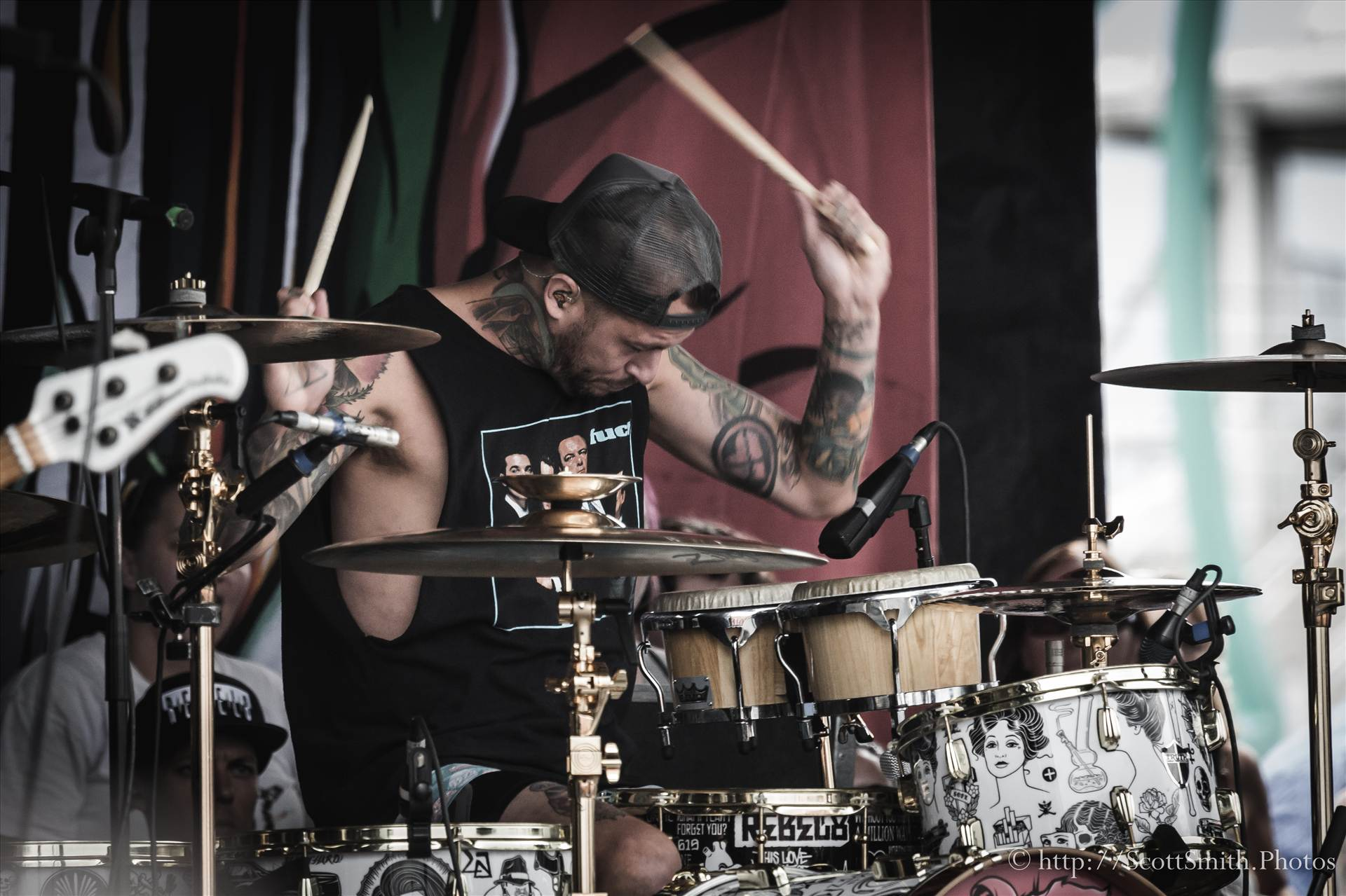 Denver Warped Tour 2015 17 -  by Scott Smith Photos