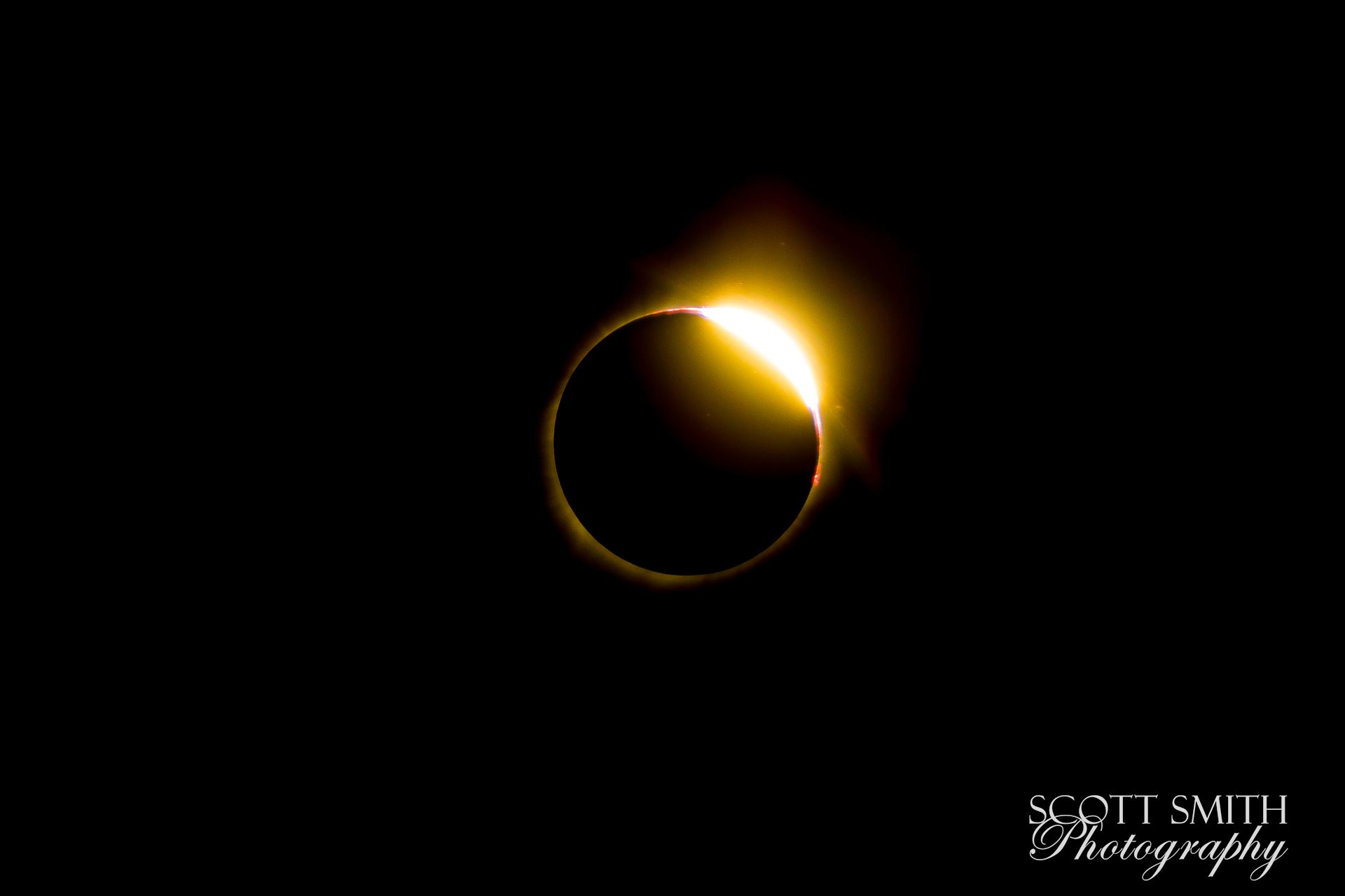 2017 Solar Eclipse 17 - Total solar eclipse, at Carhenge in Alliance. Nebraska August 21, 2017. by Scott Smith Photos