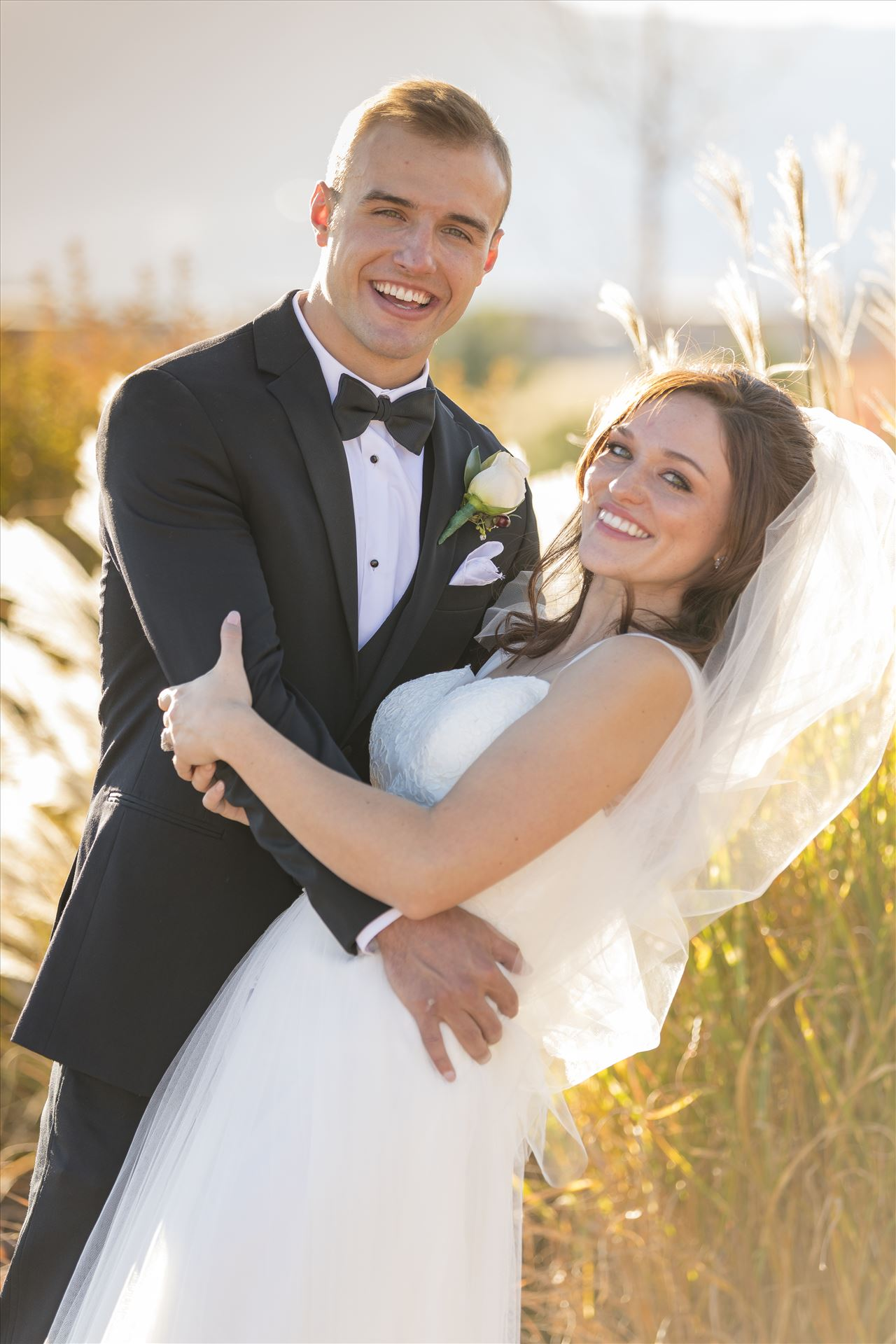 Bride and Groom - Anna and Dylan - Anna and Dylan at the Cordera Community Center in Colorado Springs, Colorado. by Scott Smith Photos