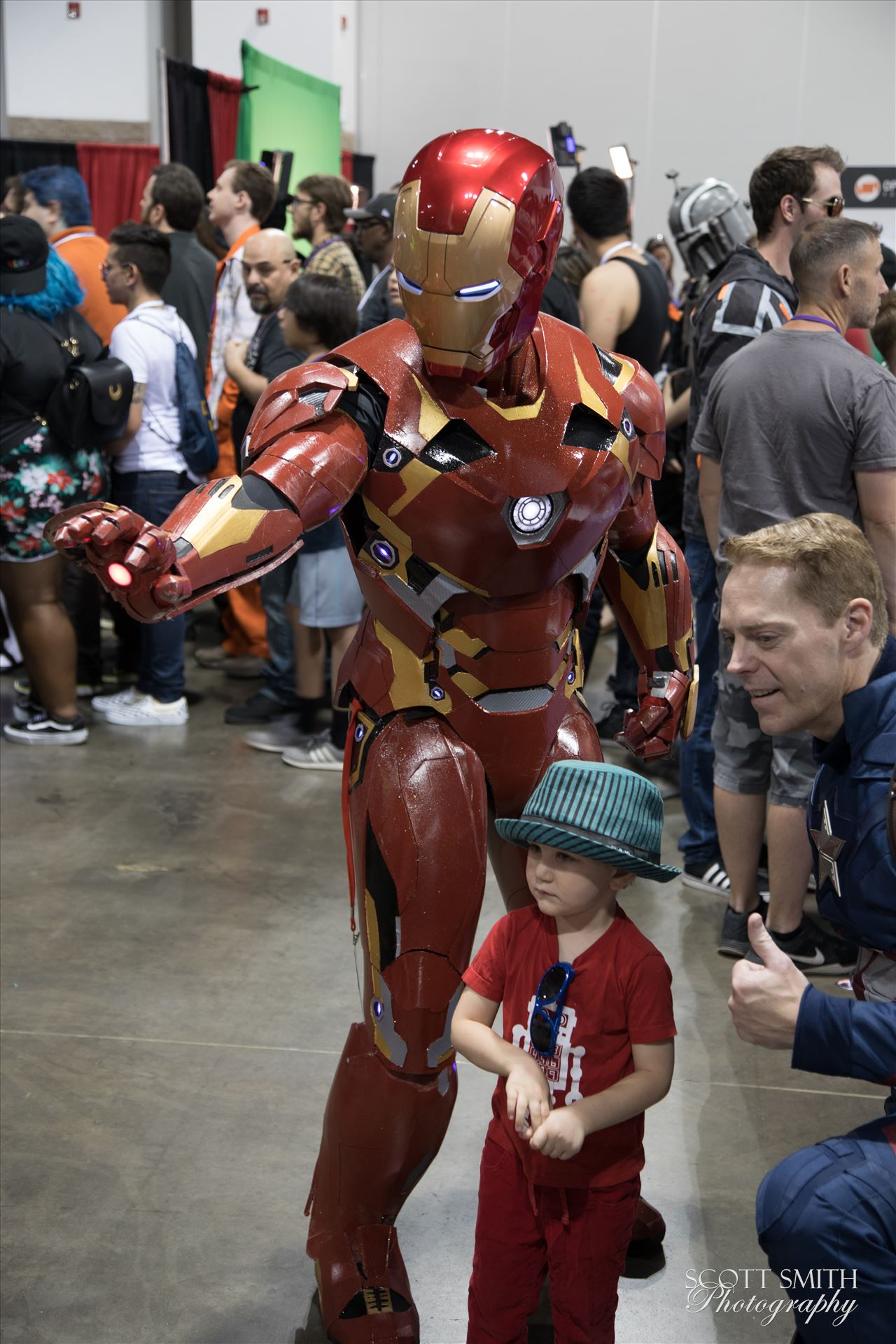 Iron Man 2 at Denver Comic Con 2018 -  by Scott Smith Photos