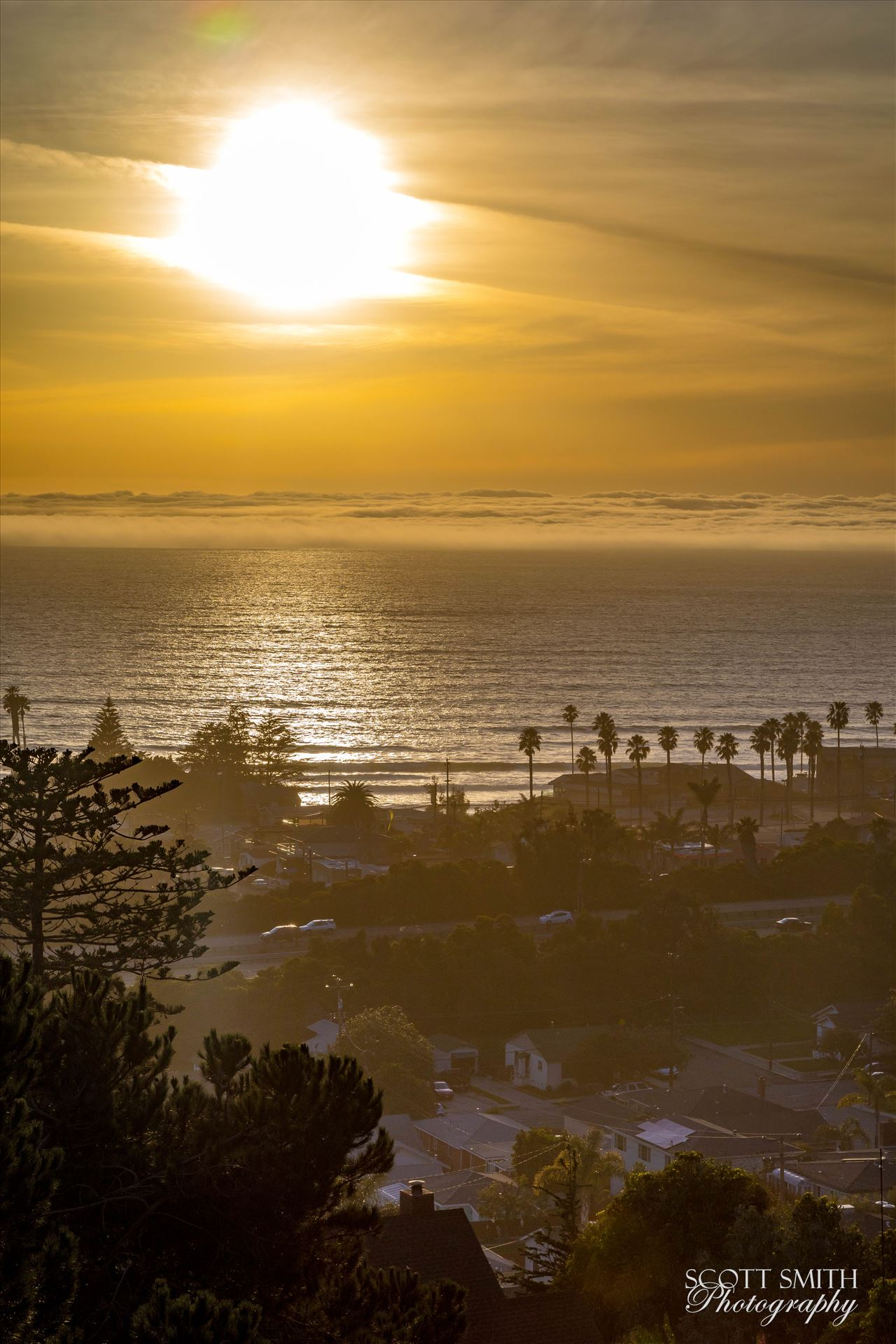 Pismo Beach Sunset 2 -  by Scott Smith Photos