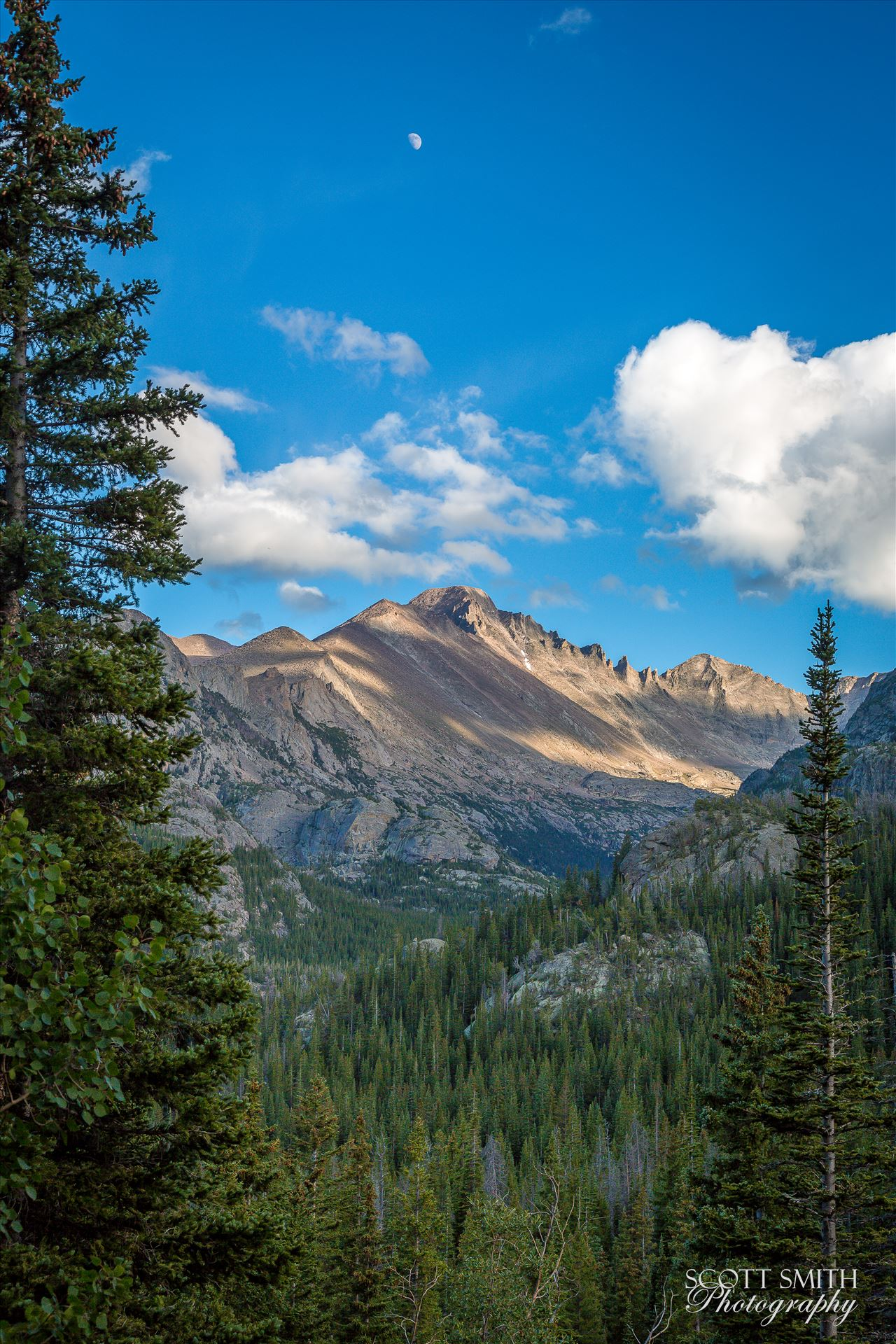 Bear Lake Trail 1 - From Bear Lake Trail, Rocky Mountain National Park, outside of Estes Park, Colorado. by Scott Smith Photos
