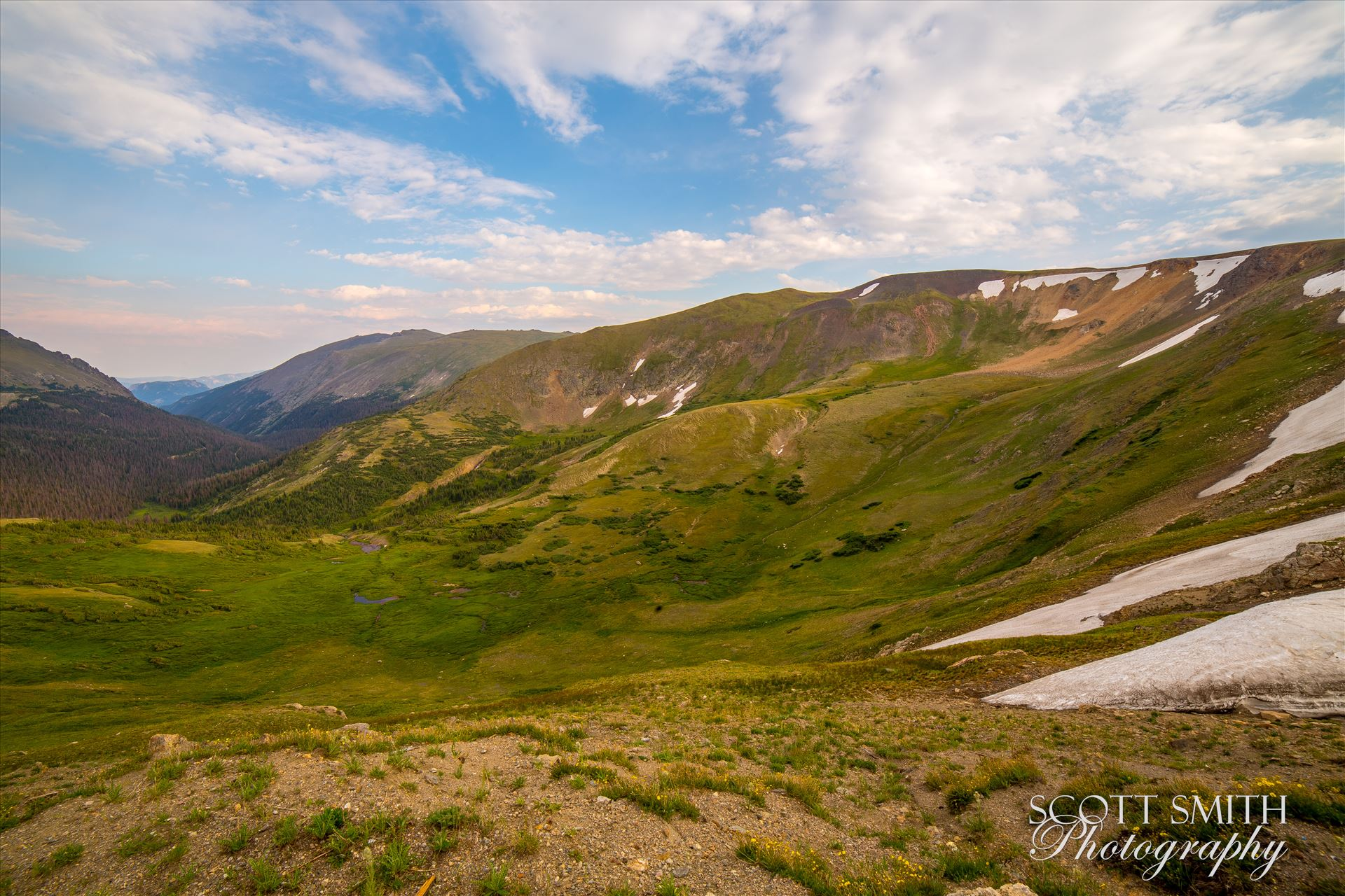 Rocky Mountain National Park Alpine Visitors Center - Near the summit of Trail Ridge Road in Rocky Mountain National Park, the Alpine Visitor's Center offers some astounding views. by Scott Smith Photos