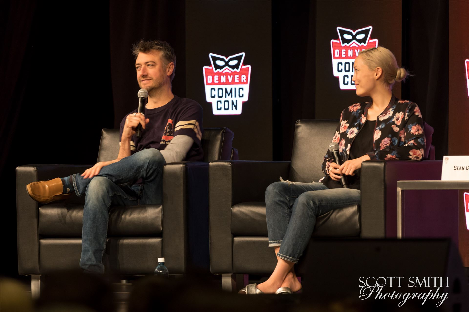 Guardians of the Galaxy's Sean Gun and Pom Klementieff at Denver Comic Con 2018 No 2 -  by Scott Smith Photos