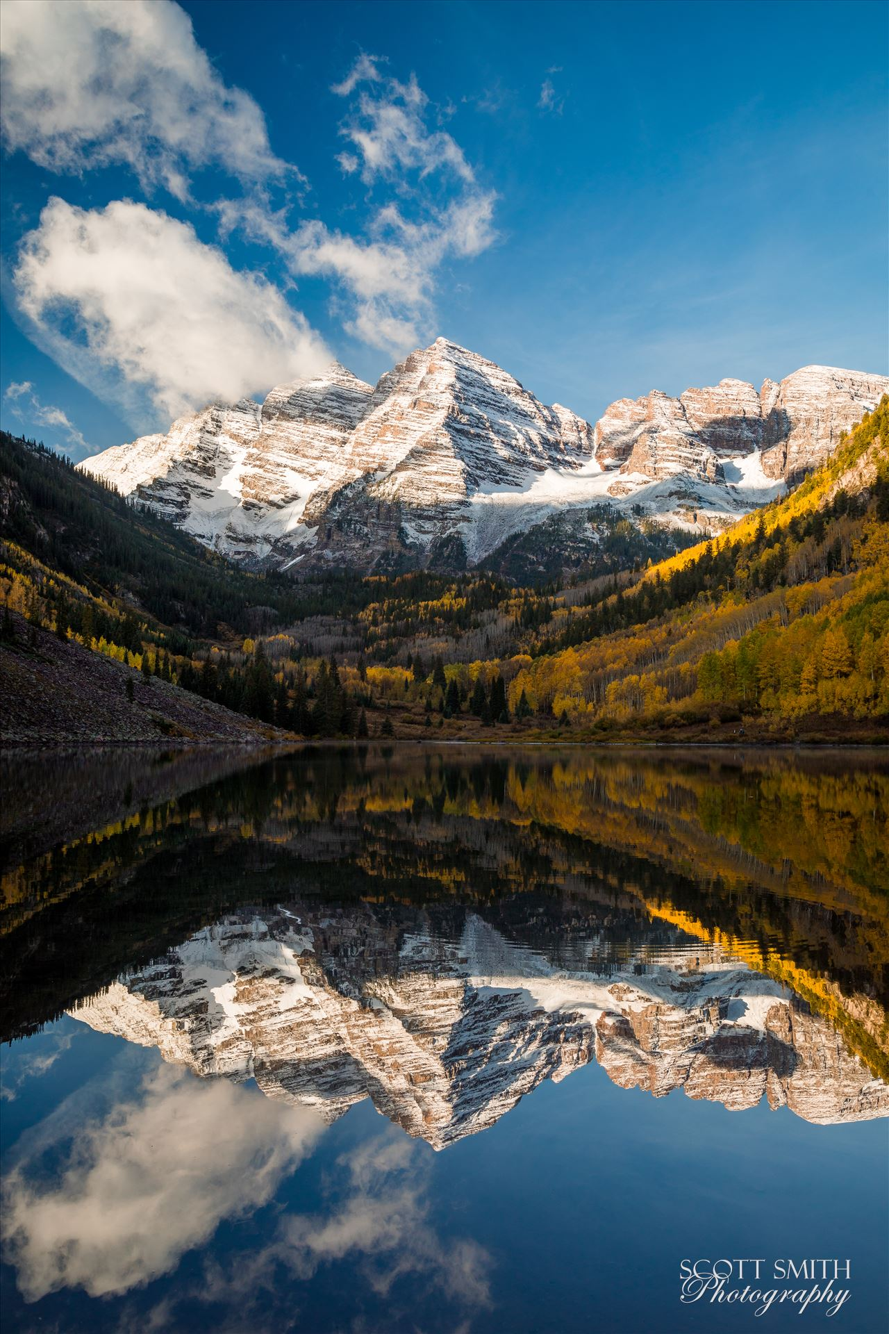 Maroon Bells 2 - The Maroon Bells, Saturday 9/29/17. by Scott Smith Photos
