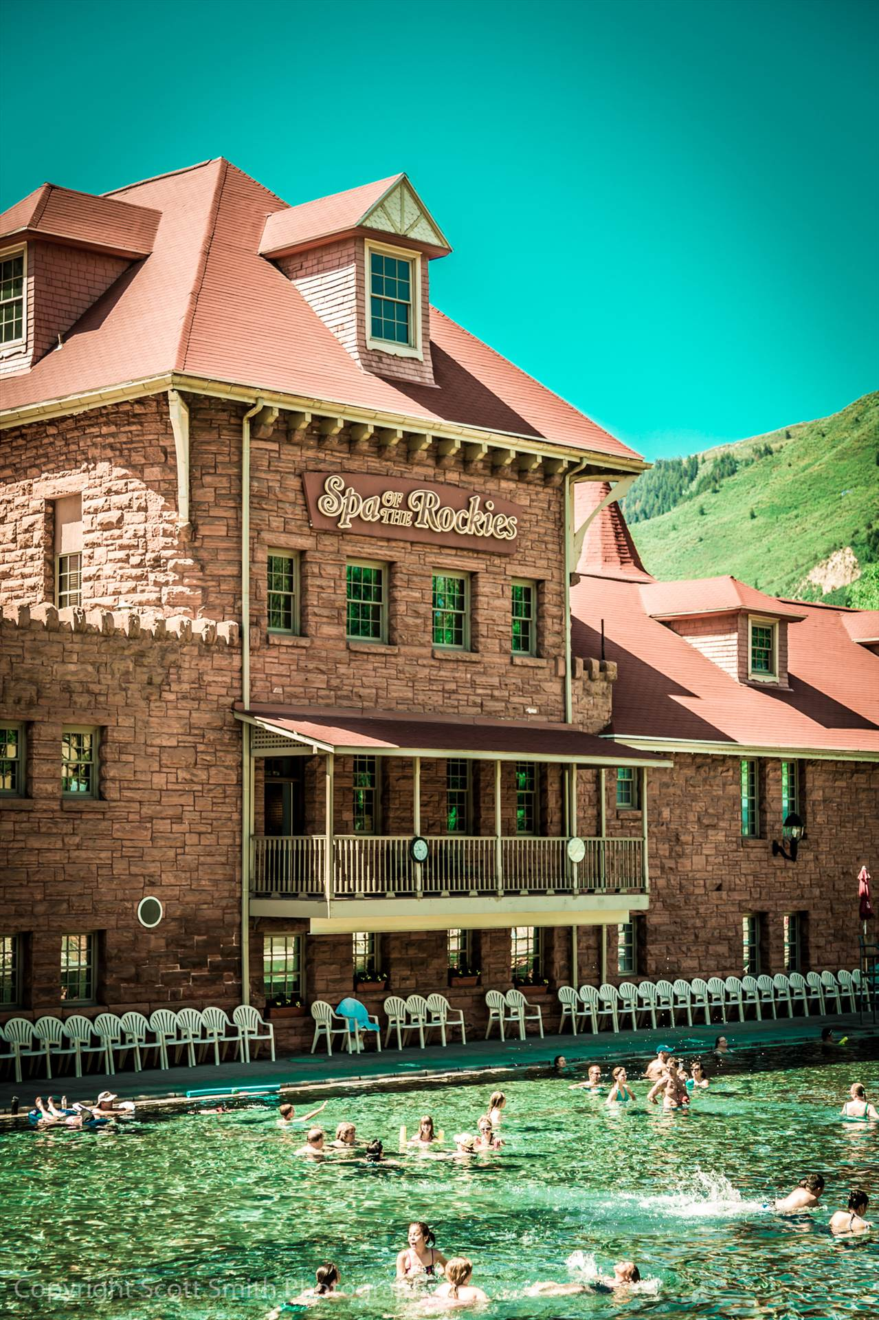Glenwood Hot Springs -  by Scott Smith Photos