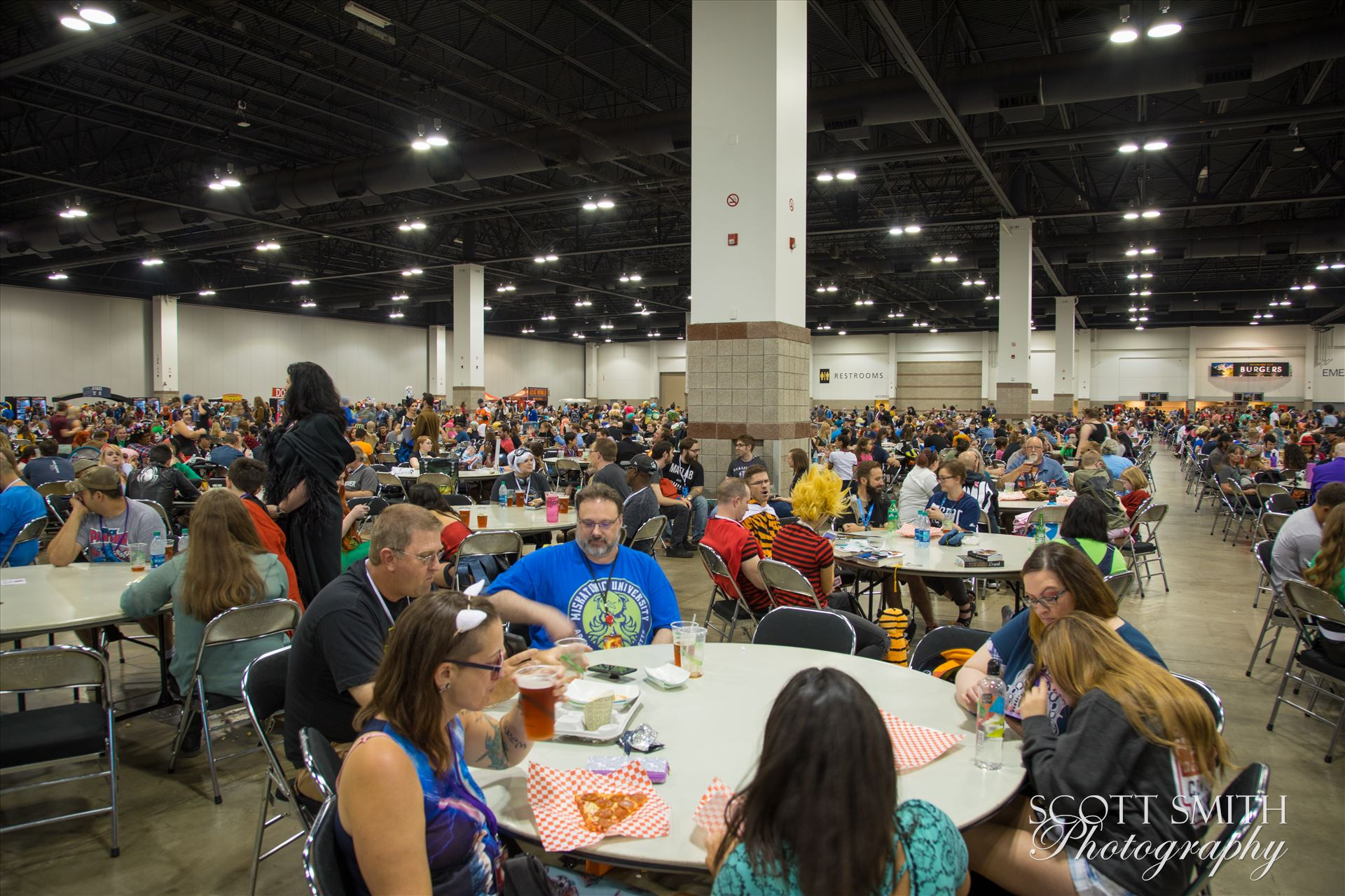Denver Comic Con 2018 Food Court -  by Scott Smith Photos
