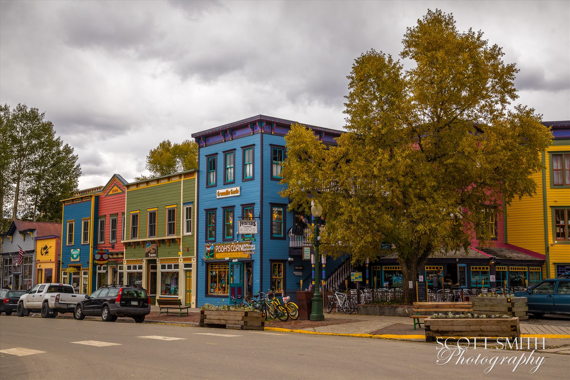 Crested Butte Main Street -  by Scott Smith Photos