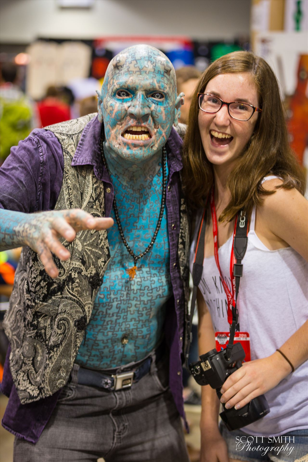 Denver Comic Con 2016 32 - Denver Comic Con 2016 at the Colorado Convention Center. The Enigma with my daughter. by Scott Smith Photos