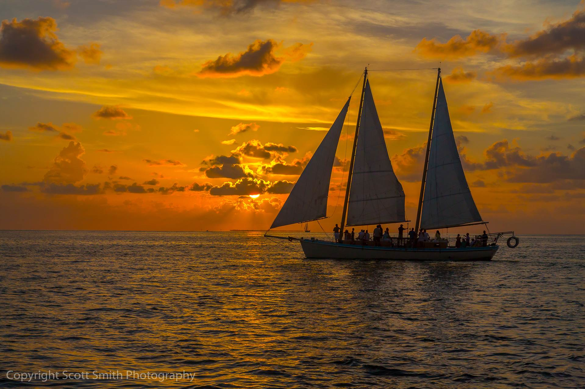 Sunset Cruise -  by Scott Smith Photos