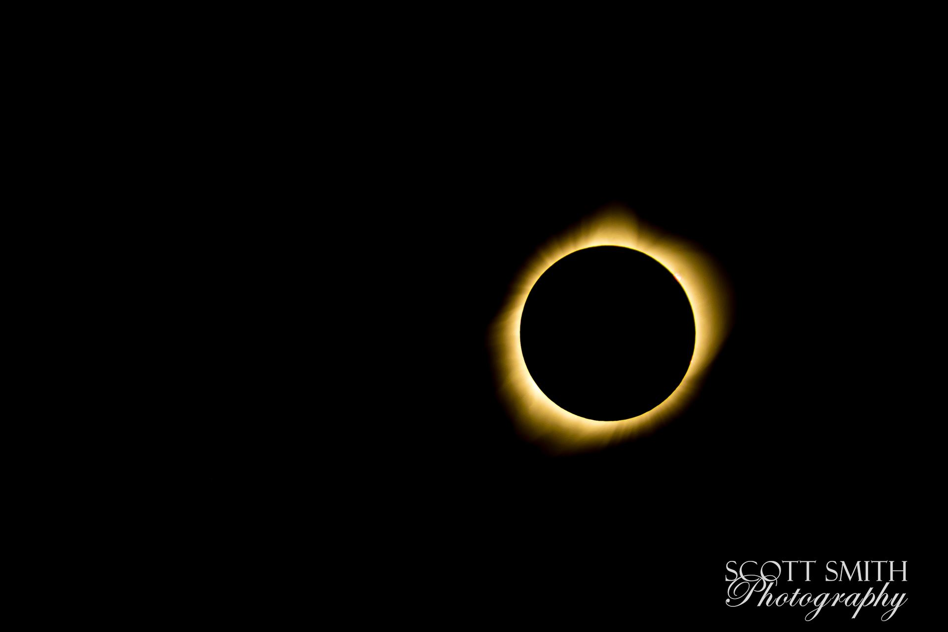 2017 Solar Eclipse 13 - Total solar eclipse, at Carhenge in Alliance. Nebraska August 21, 2017. by Scott Smith Photos