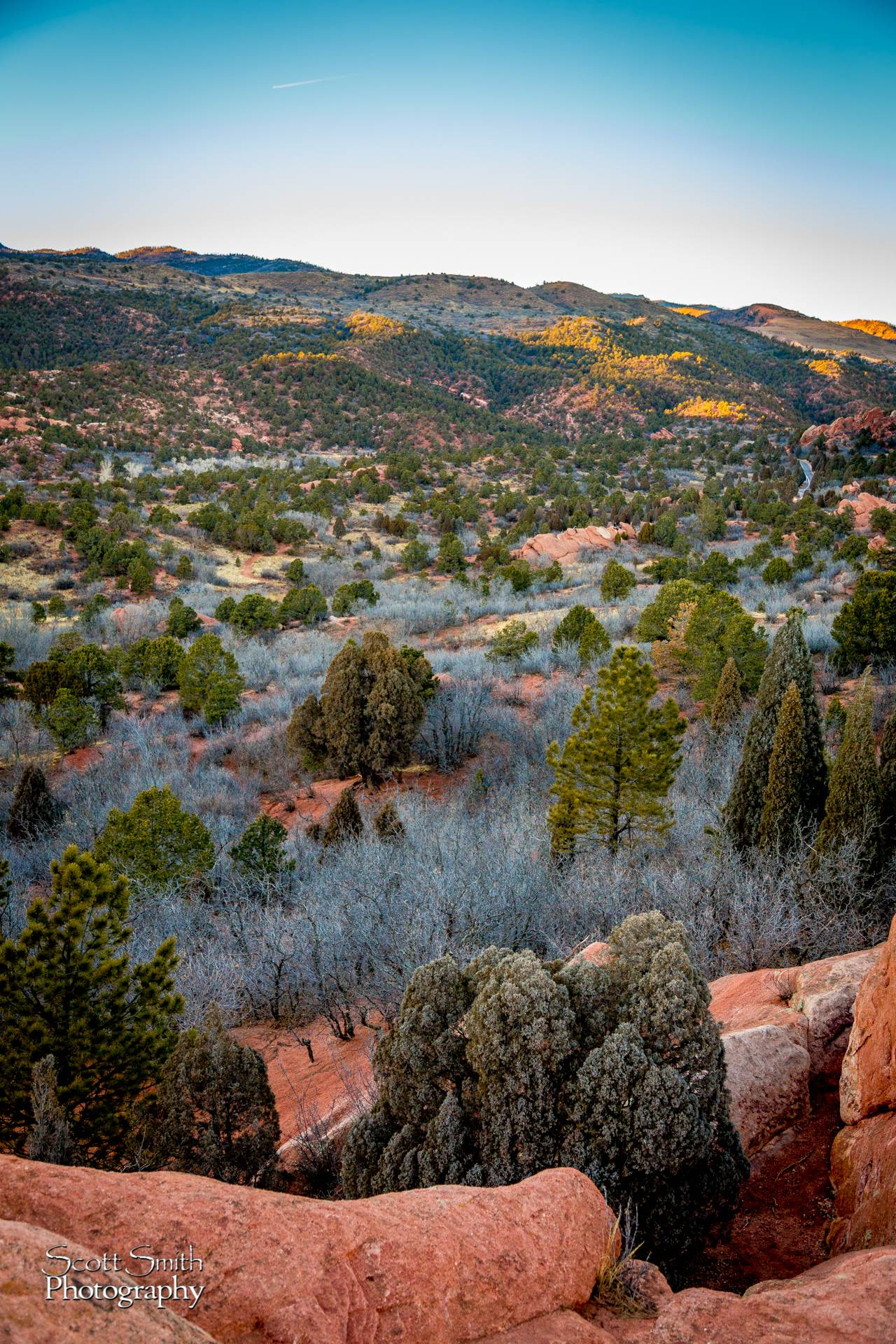 Sun Setting at Garden of the Gods -  by Scott Smith Photos