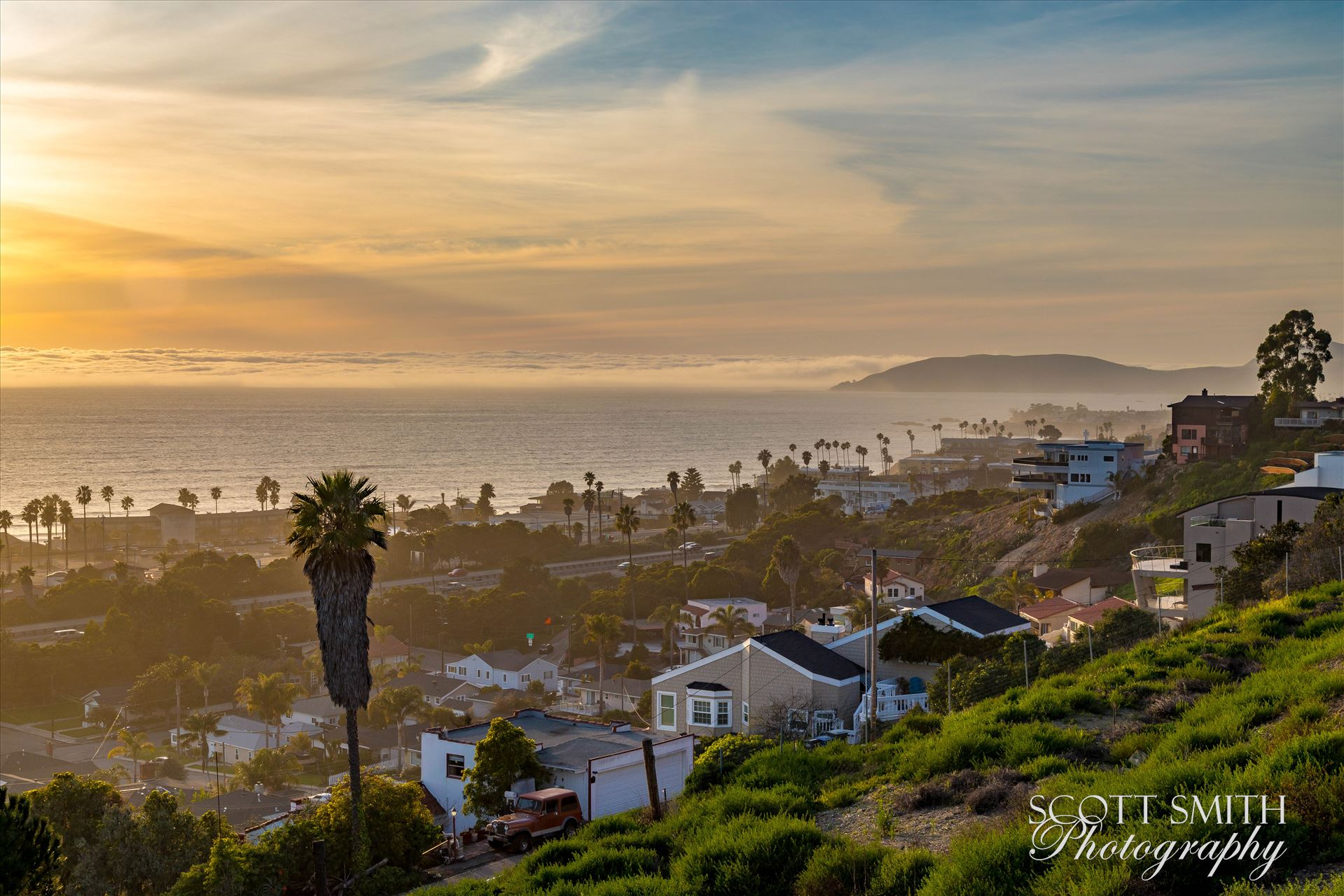 Pismo Beach Sunset 3 -  by Scott Smith Photos