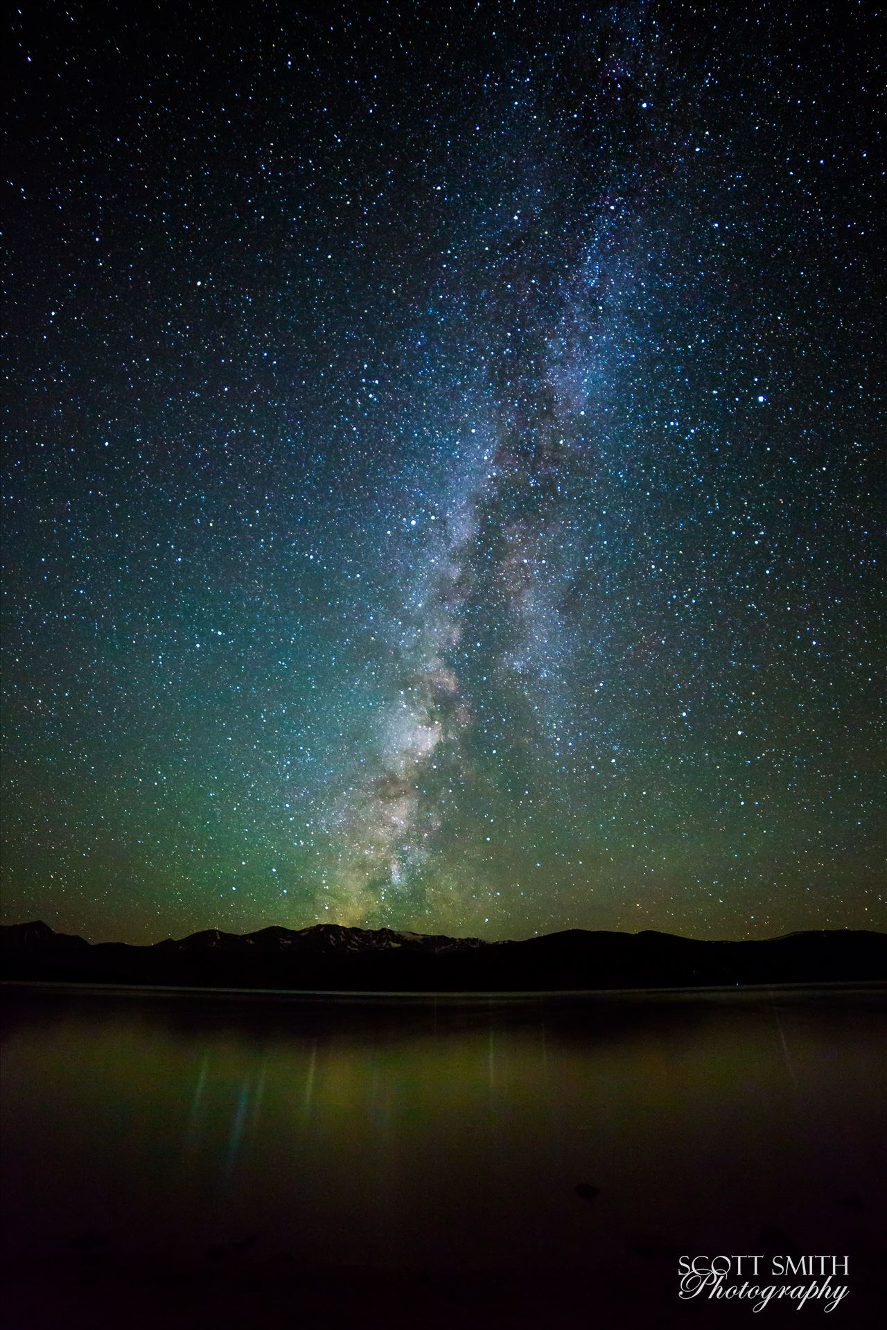 Milky Way at Turquoise Lake - 25 second exposure of the Milky Way from Turqouise Lake, Leadville Colorado. by Scott Smith Photos