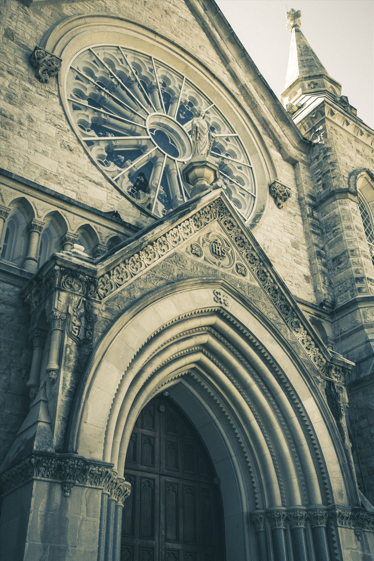 St Mary Cathedral - St Mary Cathedral in downtown Austin by Scott Smith Photos