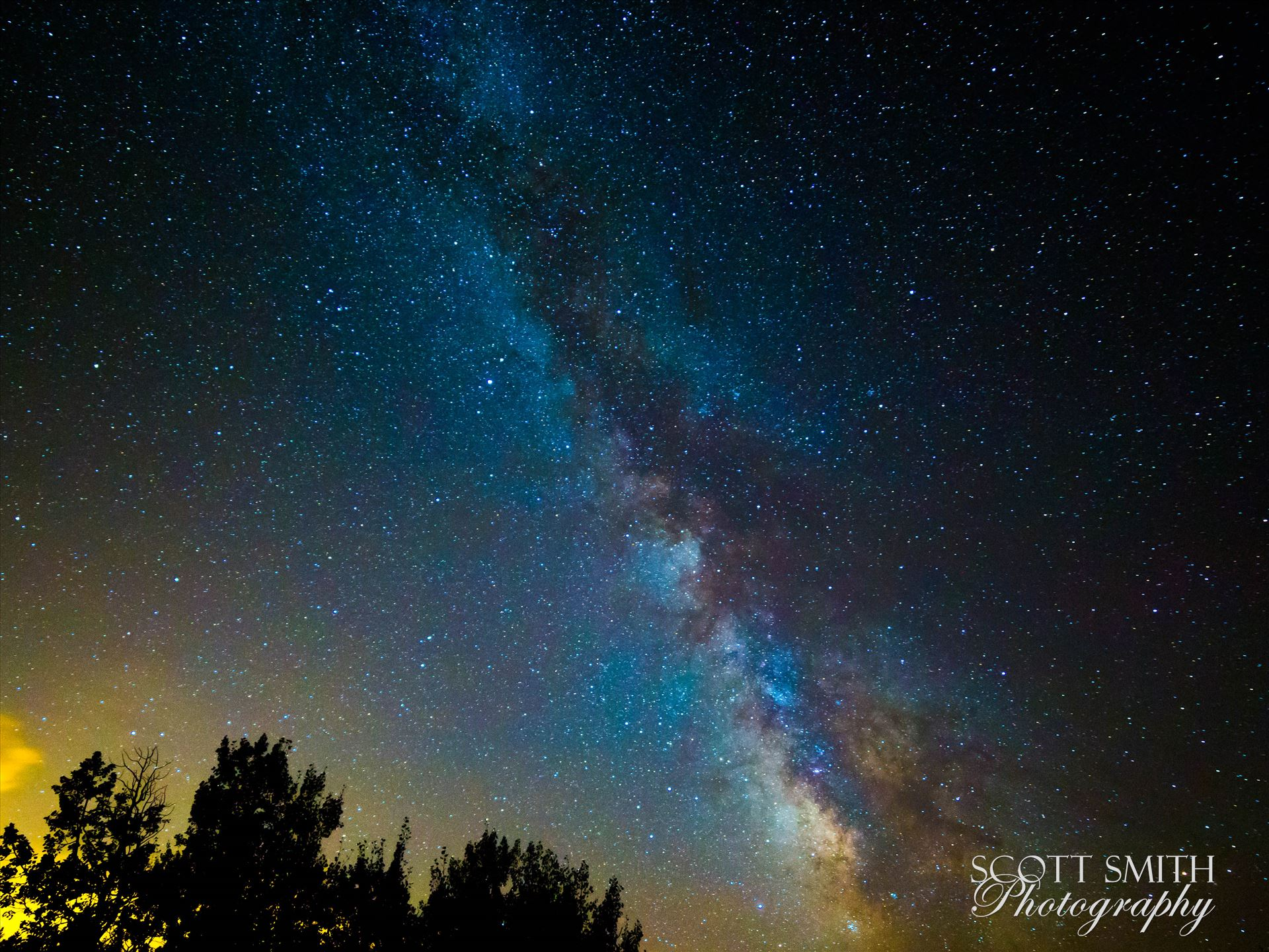 Milky Way from Ward II - The Milky Way during the 2015 Perseid meteor shower. by Scott Smith Photos