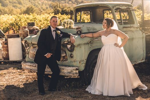Tyler and Andrea had their ceremony at the Fortino Winery, in  Gilroy California, the Santa Clara Valley.