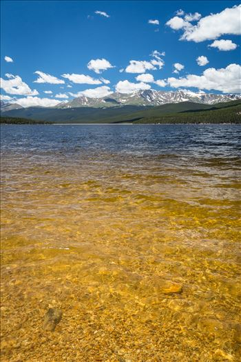 Summer at Turquoise Lake, Leadville, Colorado.