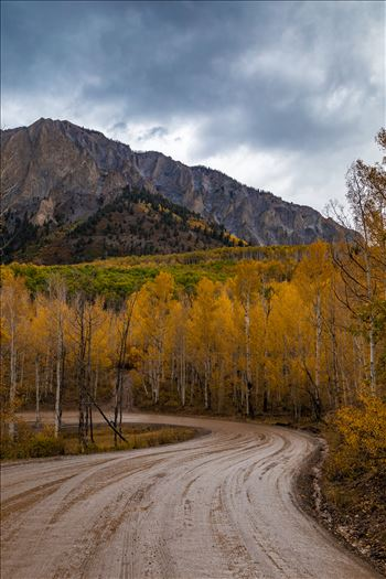 Marcellina Mountain from Kebler Pass, on the way to Creste Butte, Saturday 9/29/17.
