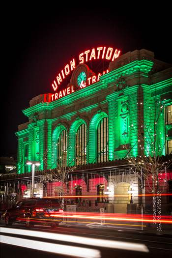 Union Station, Denver Colorado at Christmas
