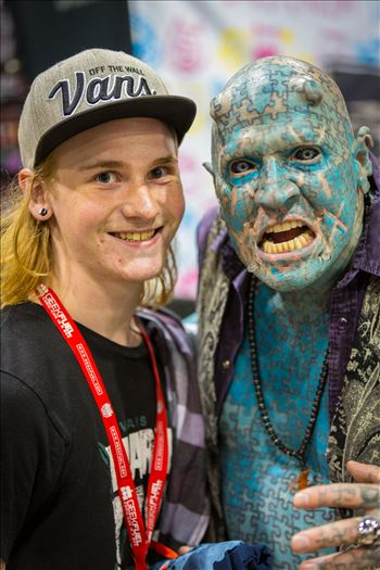 Denver Comic Con 2016 at the Colorado Convention Center. The Enigma with my son.
