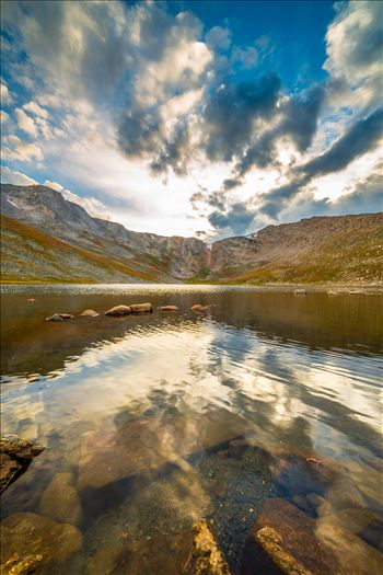 Mt Evans, Colorado - Driving along the highest continuously paved road in the United States