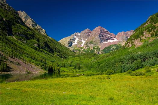 Preview of Maroon Bells in Summer No 03