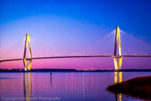 Arthur Ravenel Jr. Bridge from Patriot's Point.