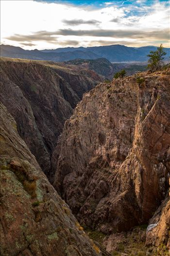 The view of the Royal Gorge, in Canon City Colorado.